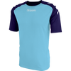 Kappa Paderno Match Shirt SS - Blue Light/Blue Marine