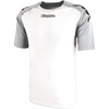 Kappa Paderno Match Shirt SS - White/Ash Grey