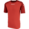 Kappa Paderno Match Shirt SS - Red/Dark Red