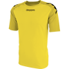 Kappa Paderno Match Shirt SS - Yellow/Golden Yellow