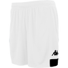 Kappa Paggo Match Short - White/Black