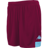 Kappa Paggo Match Short - Red Scarlet/Blue Light
