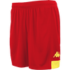 Kappa Paggo Match Short - Red/Yellow
