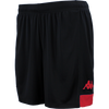 Kappa Paggo Match Short - Black/Red