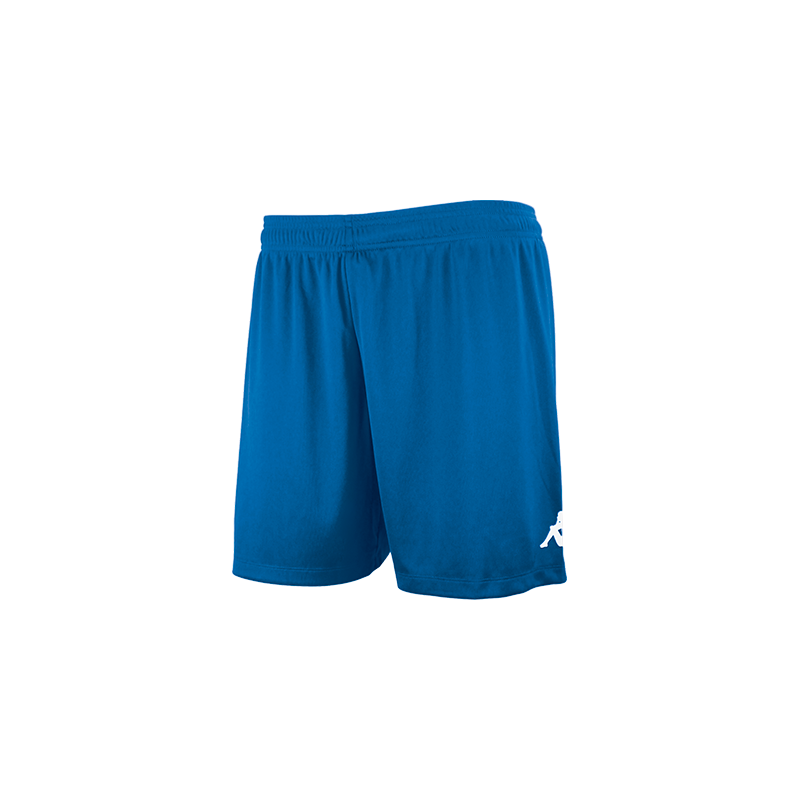 Kappa Redena Woman Match Short in blue nautic (royal blue) with white printed Omini on the leg