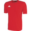 Kappa Rovigo Match Shirt SS - Red/White