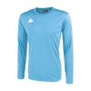 Kappa Rovigo Match Shirt LS - Light Blue/White