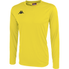 Kappa Rovigo long sleeve shirt in yellow and black