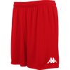 Kappa Vareso Match Short - Red/White