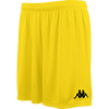Kappa Vareso Match Short - Yellow/Black