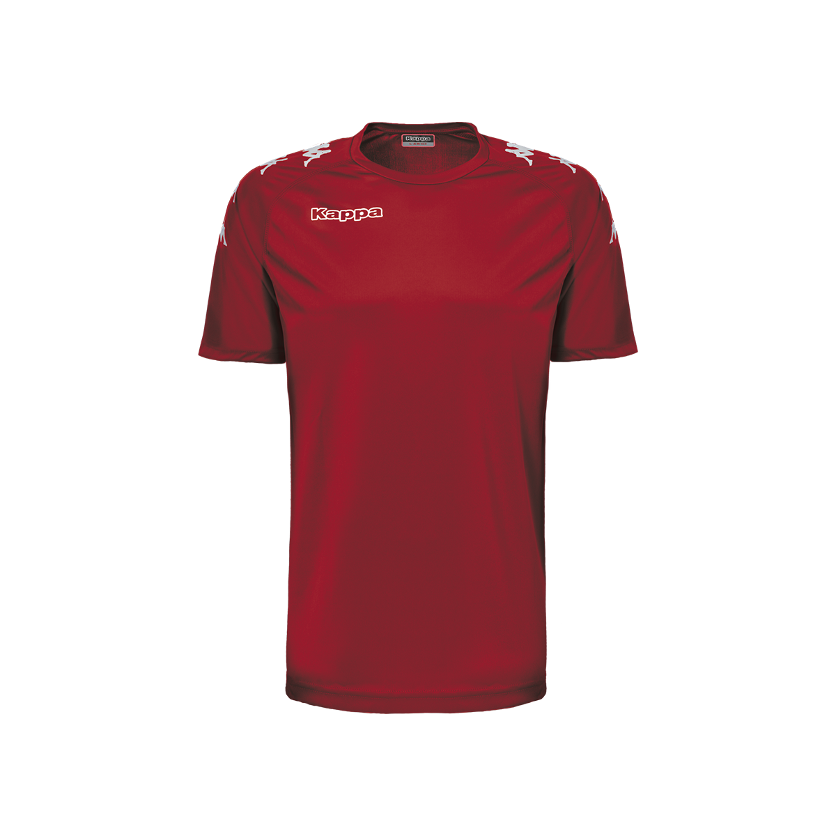 Kappa Castolo Match Shirt SS - Red Grenade