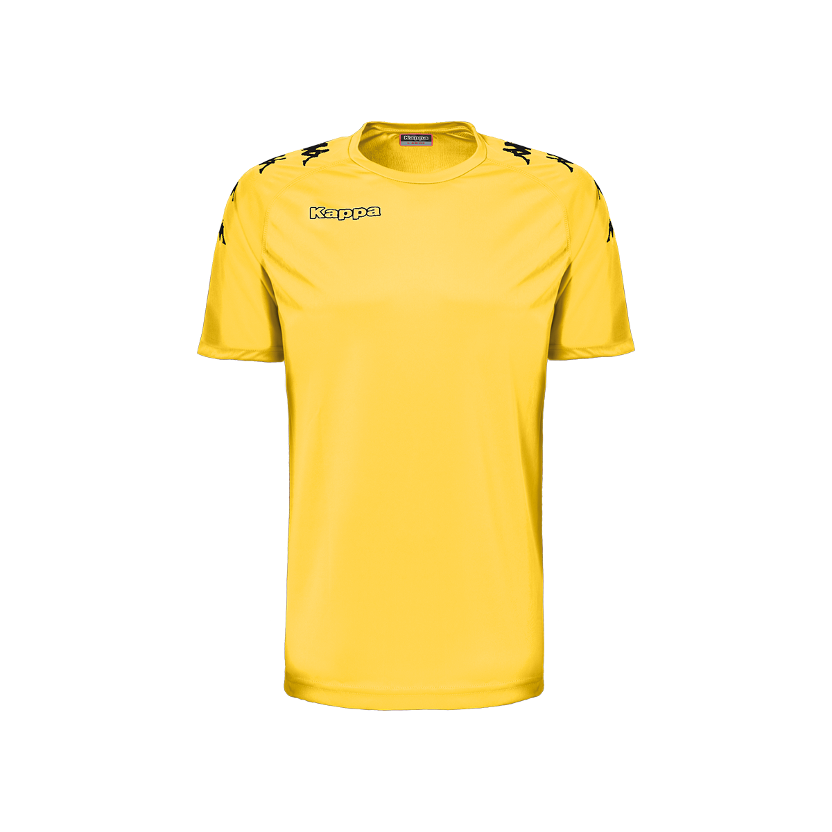 Kappa Castolo Match Shirt SS - Yellow