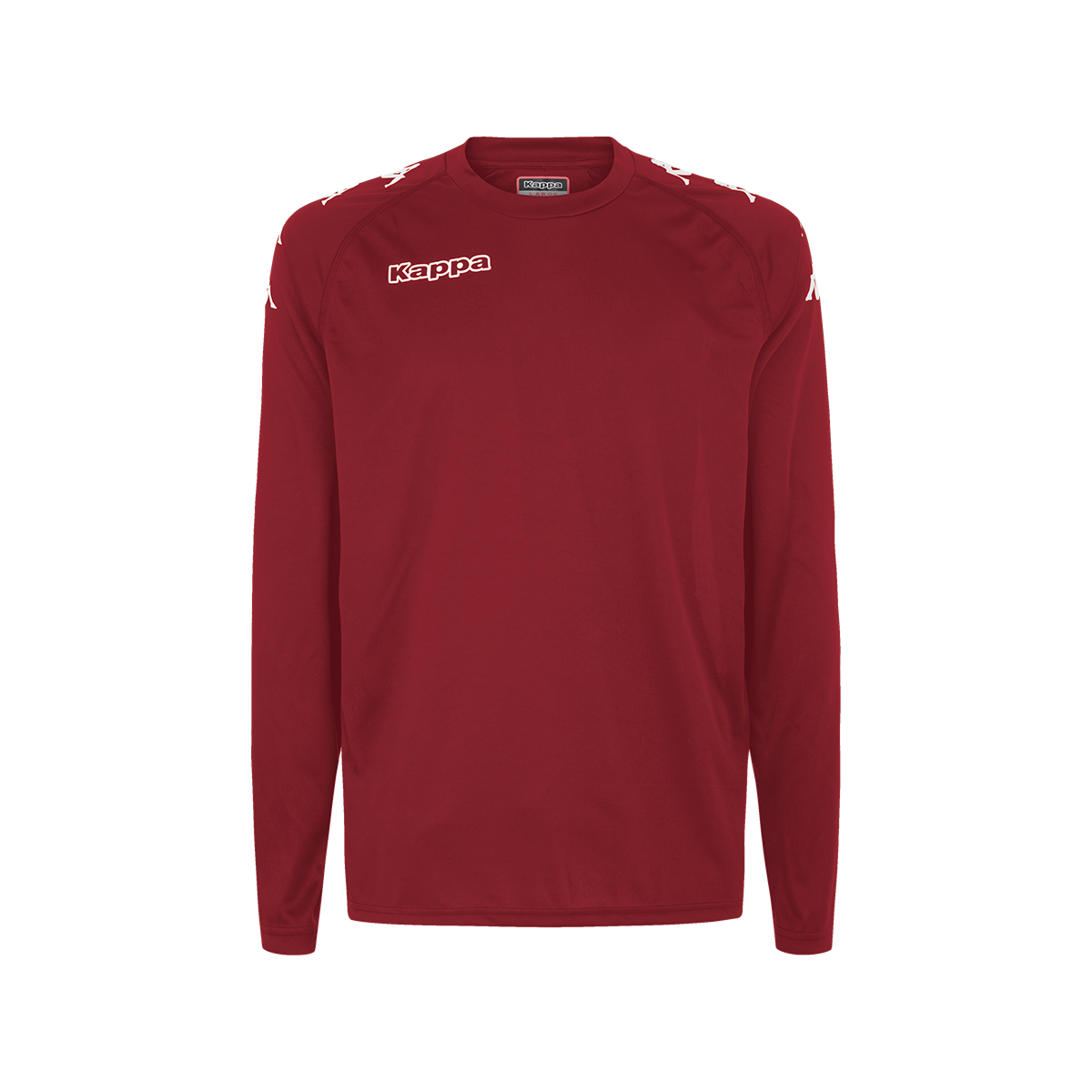 Kappa Cinanda Match Shirt LS - Red Grenade
