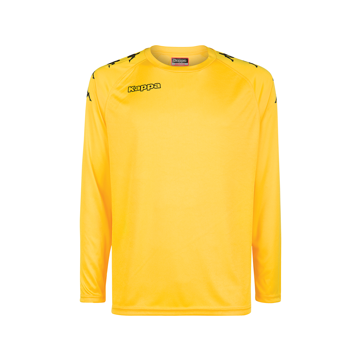 Kappa Cinanda Match Shirt LS - Yellow