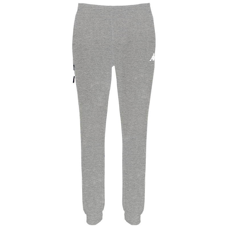 Kappa Chieta woman pant in grey with white printed Omini on the leg.