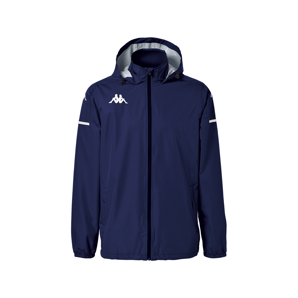 Kappa Adverzip Pro 4 Training Rain Jacket -Blue Marine/White