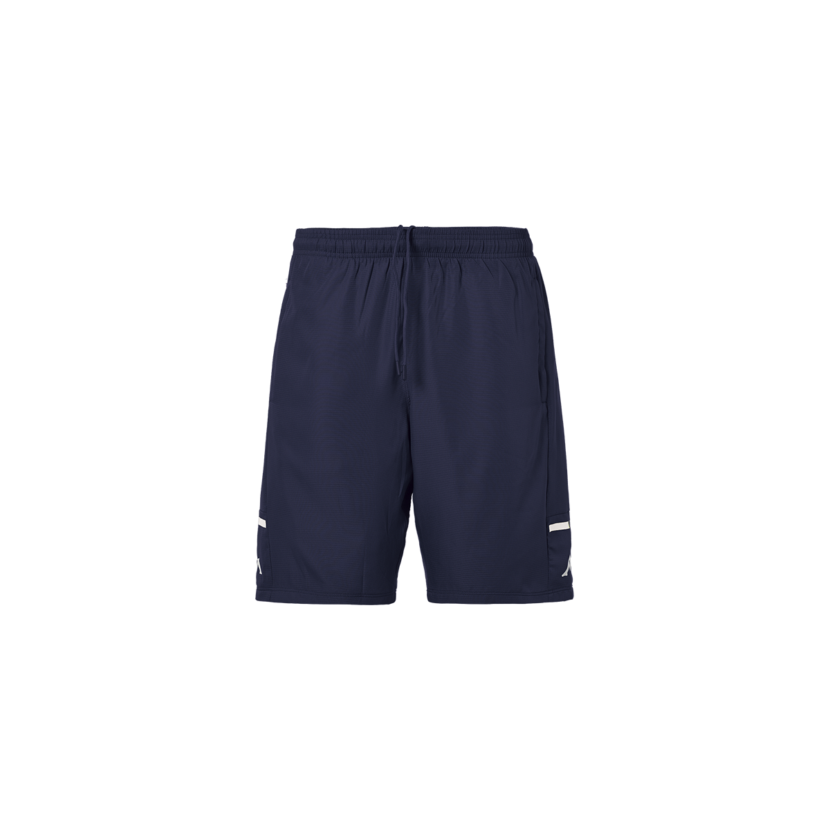Kappa Alberg Pro 4 Training Long Short - Blue Marine/White