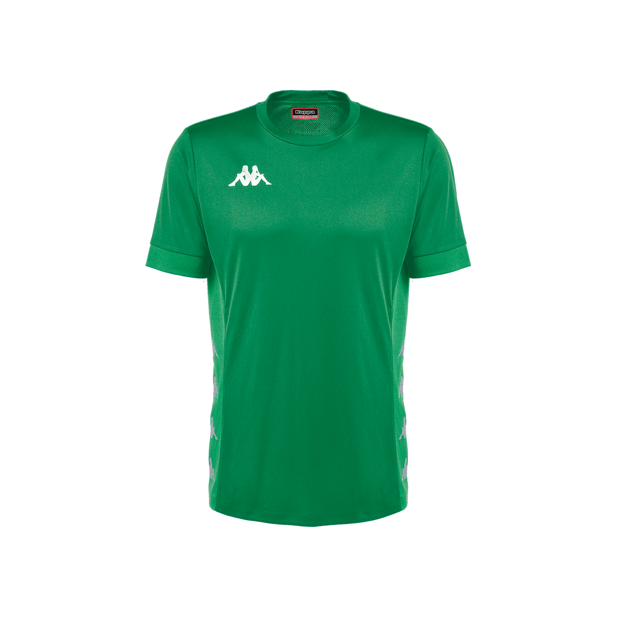 Kappa Dervio Match Shirt SS - Green Bosphorus/Green Galapago