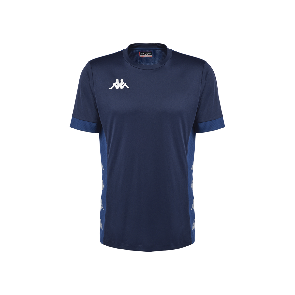 Kappa Dervio Match Shirt SS - Blue Nautic/Blue MD Cobalt