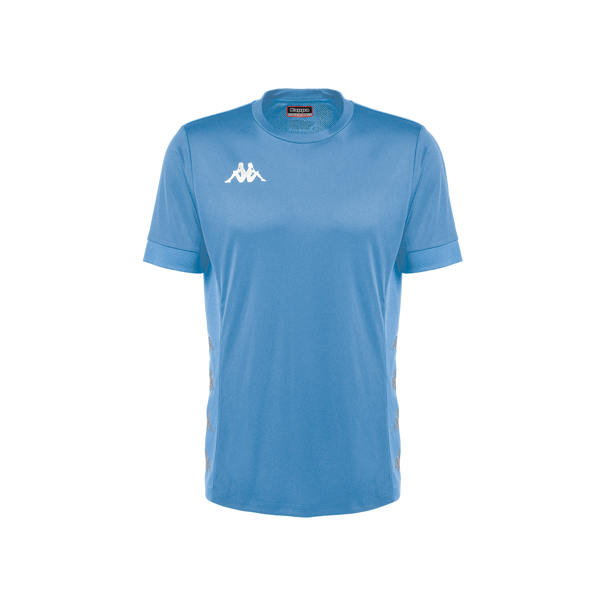 Kappa Dervio Match Shirt SS - Azure/Blue Sea