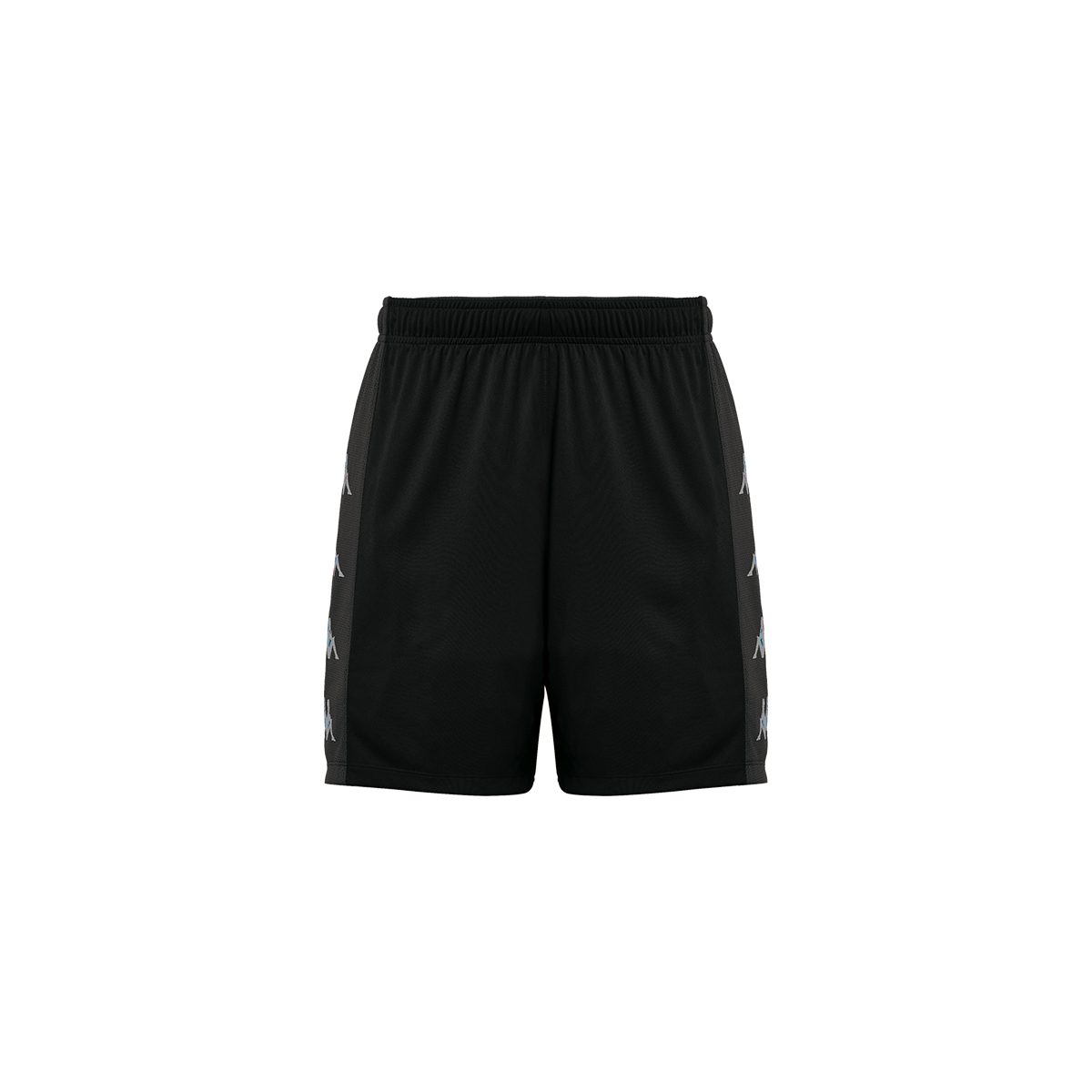 Kappa Delebio Match Short - Black/Grey DK