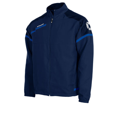 Stanno Prestige Micro Jacket Full Zip - Navy/Royal