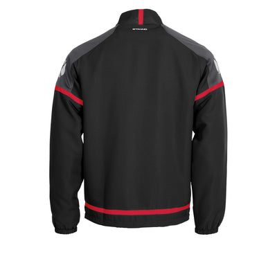 Stanno Prestige Micro Jacket Full Zip - Black/Red