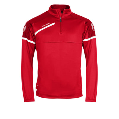 Stanno Prestige TTS Top Half Zip - Red/White
