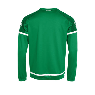 Stanno Prestige Top Round Neck - Green/White