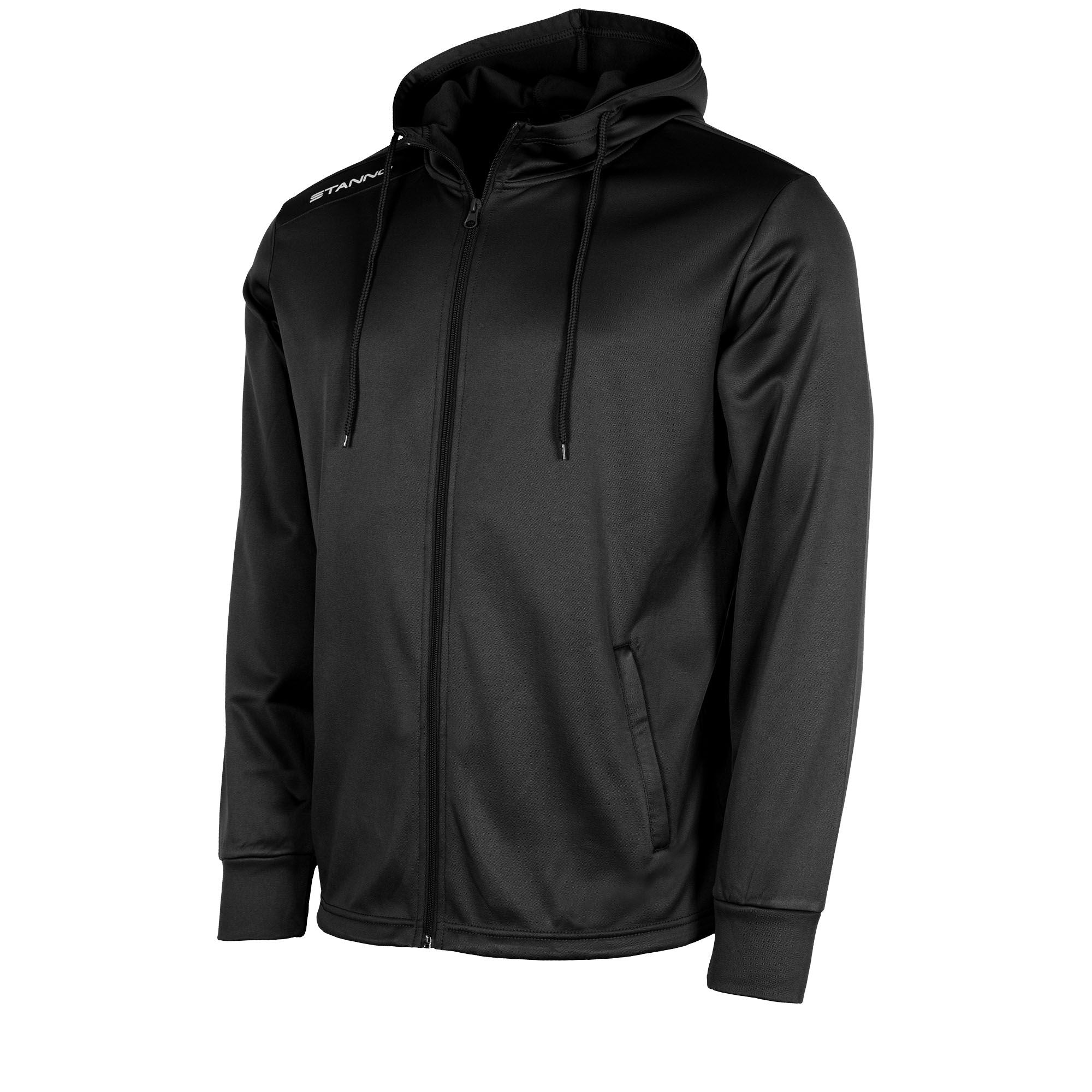 Stanno Field Hooded Jacket - Black