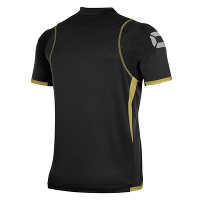 Stanno Olympico Shirt SS - Black/Gold