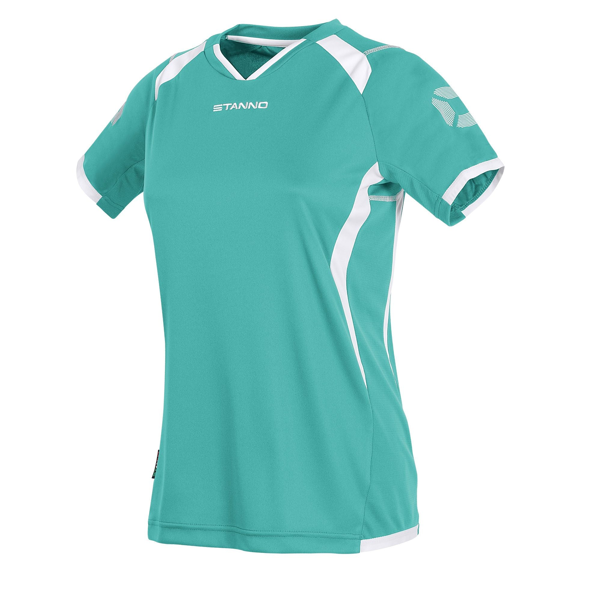 Stanno Olympico Shirt Ladies SS - Tiffany/White