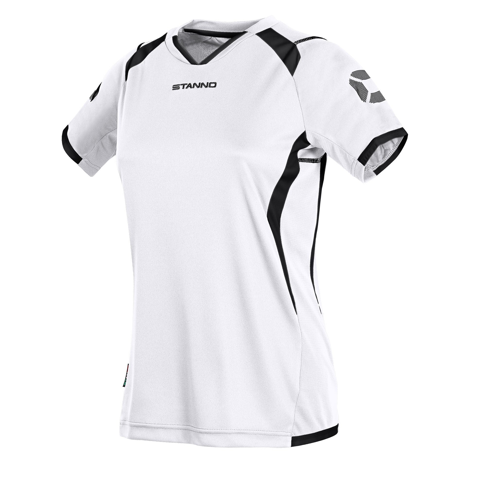 Stanno Olympico Shirt Ladies SS - White/Black