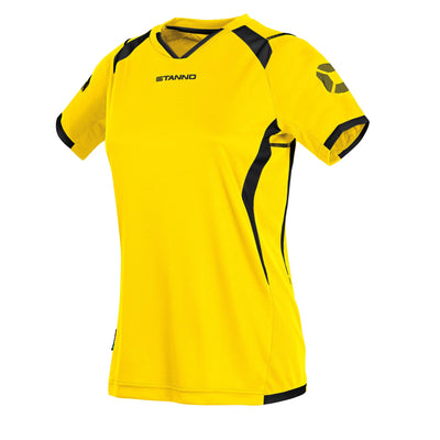 Stanno Olympico Shirt Ladies SS - Yellow/Black