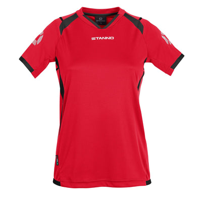 Stanno Olympico Shirt Ladies SS - Red/Black