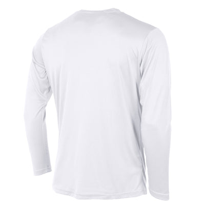Rear of Stanno Field long sleeve shirt in white
