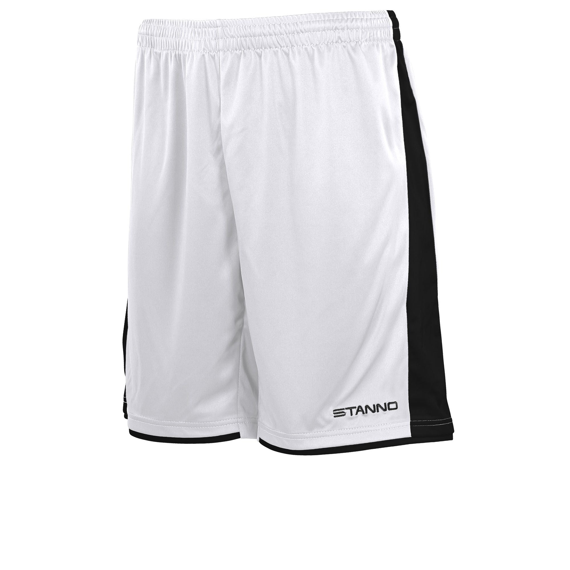 Stanno Milan Shorts - White/Black