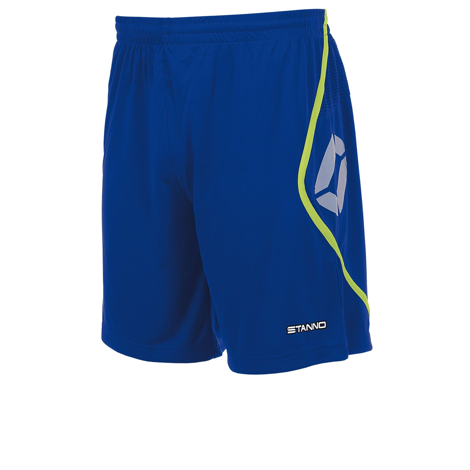 Stanno Pisa Shorts - Deep Blue/Neon Yellow