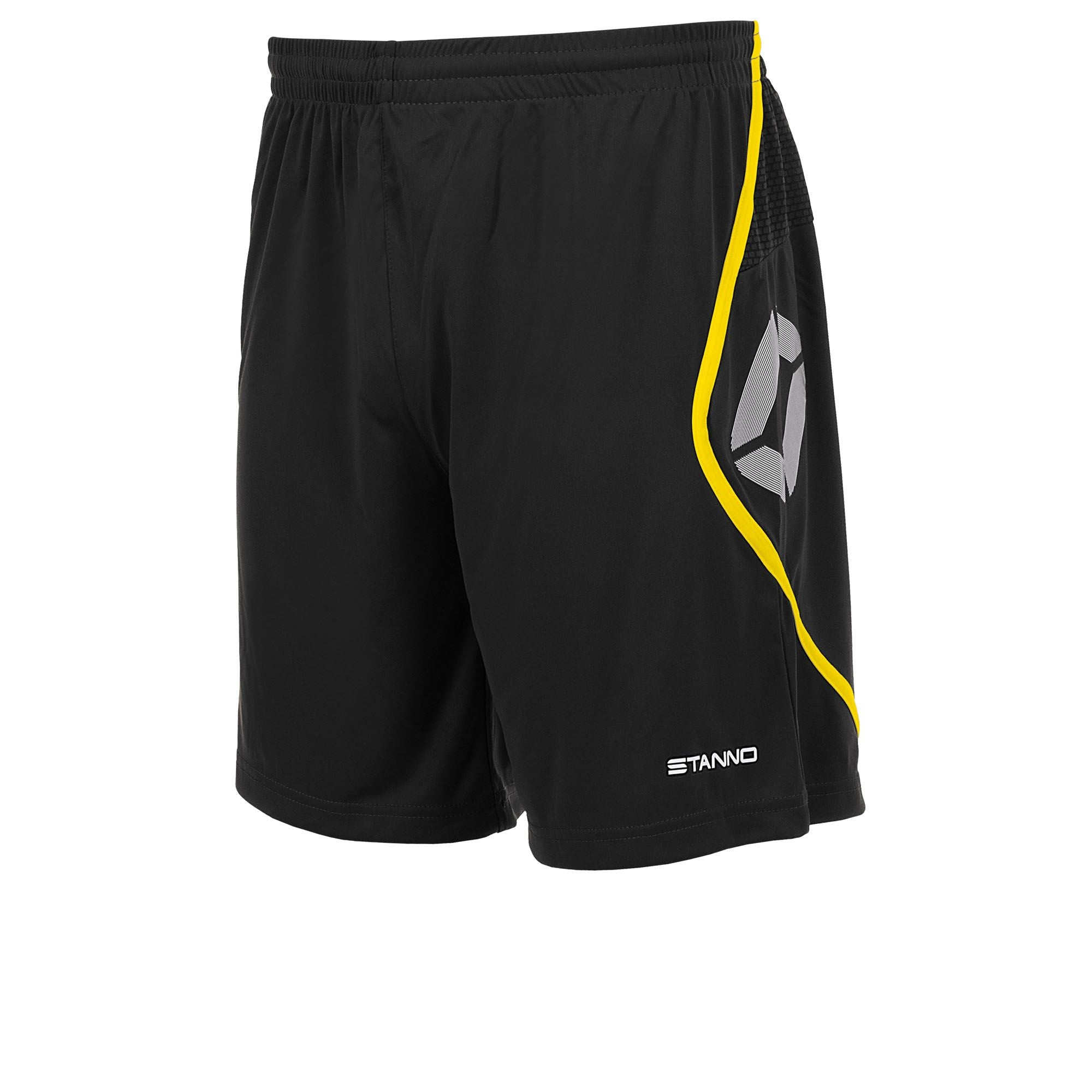 Stanno Pisa Shorts - Black/Yellow