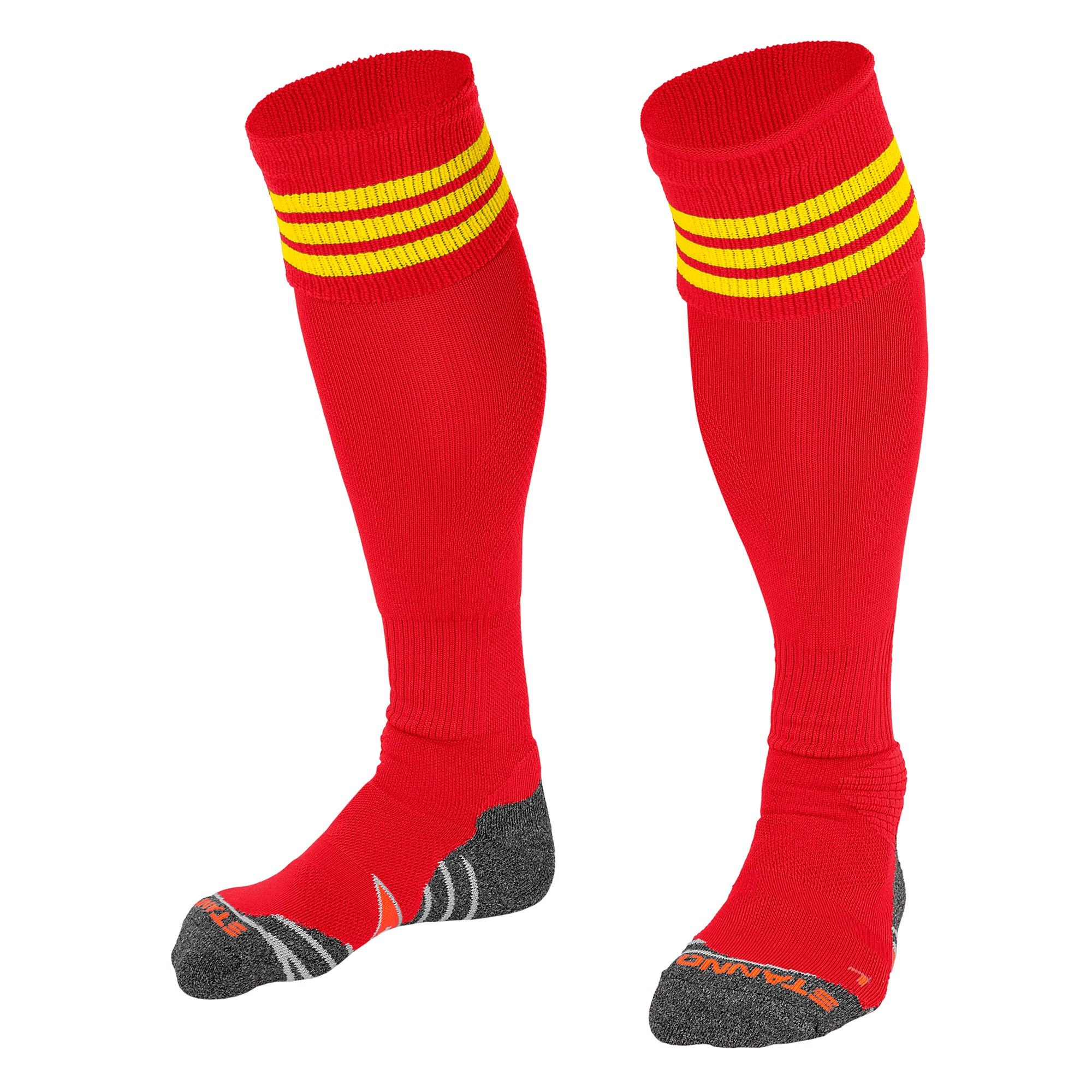 Stanno Ring Sock - Red/Yellow