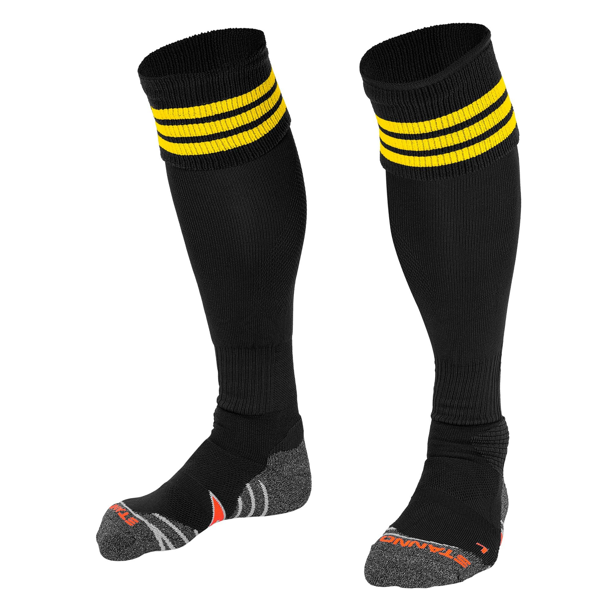 Stanno Ring Sock - Black/Yellow