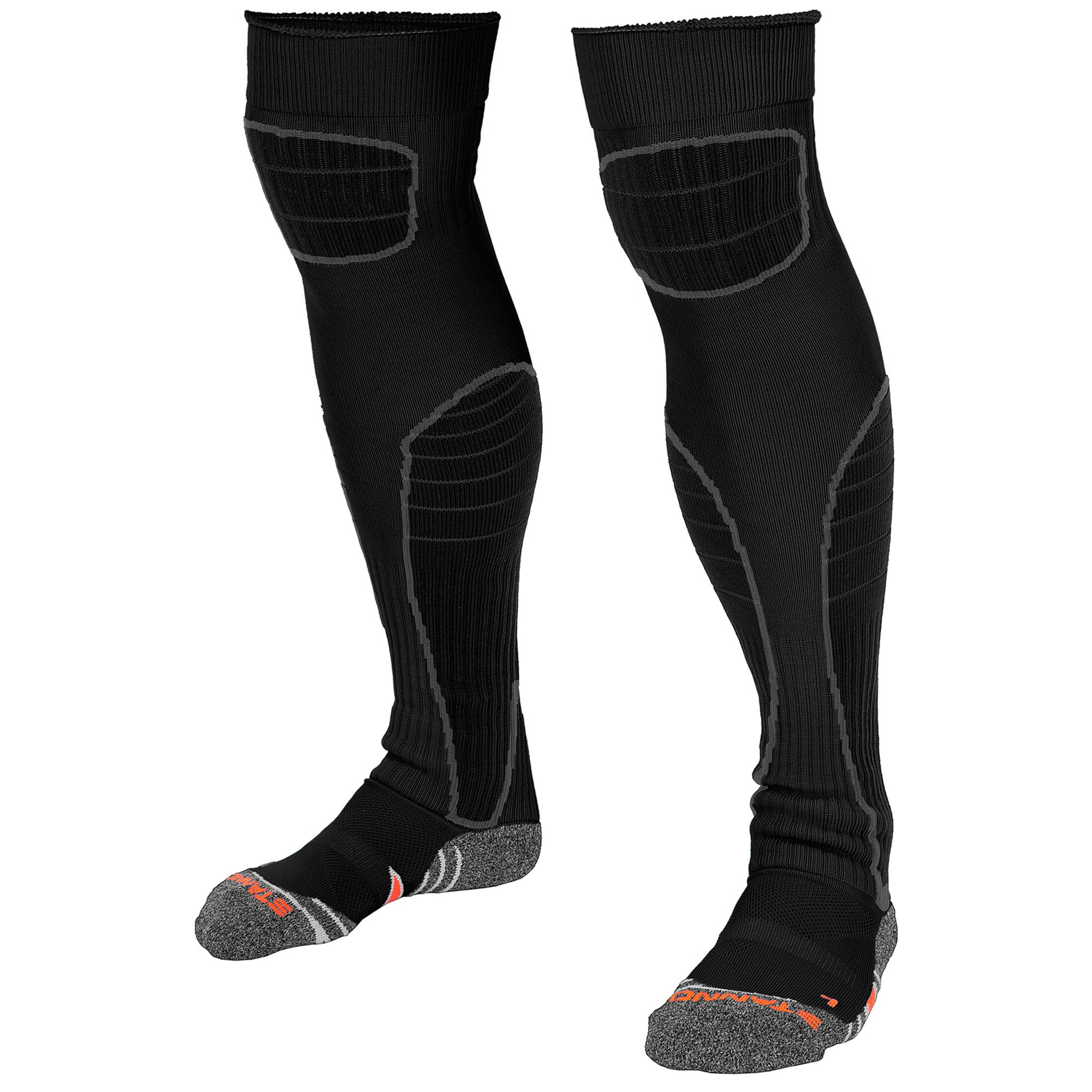 Stanno Black high Impact Goalkeeper sock