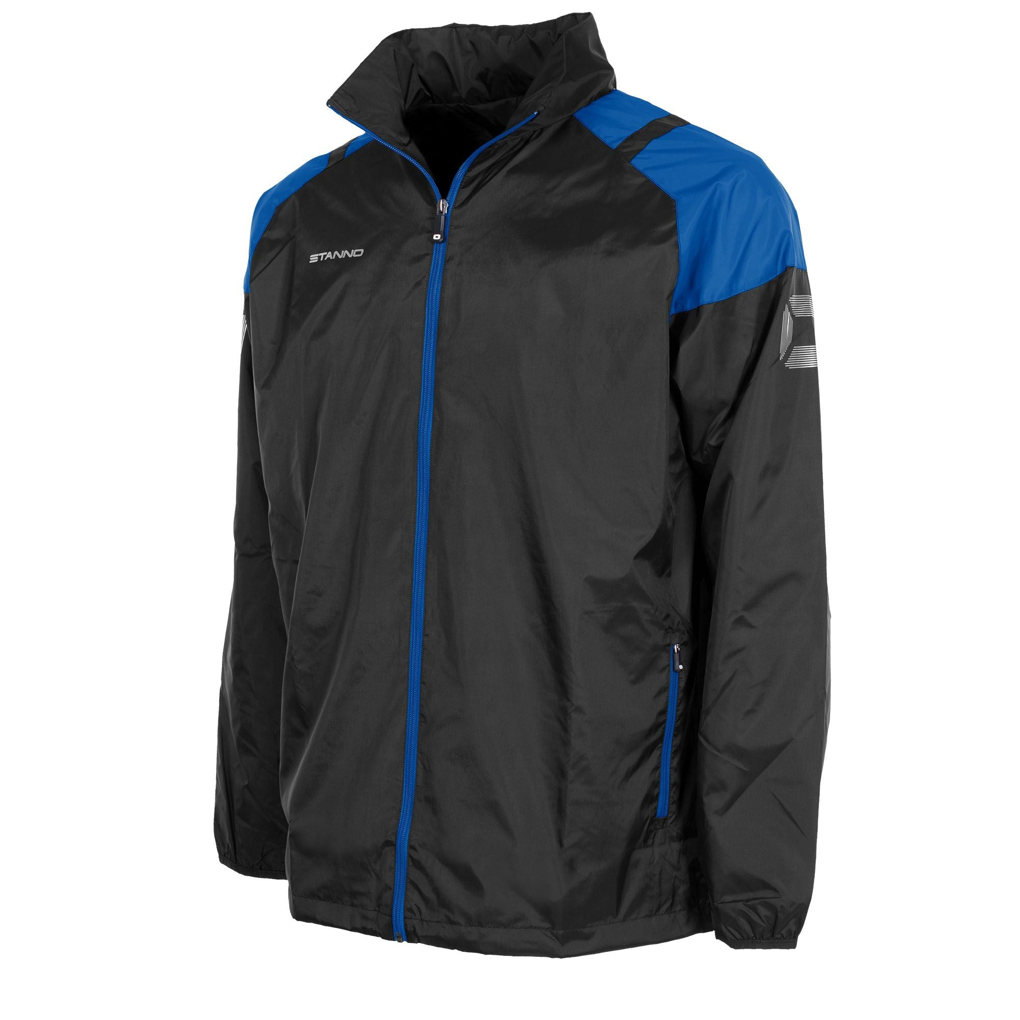 Stanno Centro All Weather Jacket - Black/Royal