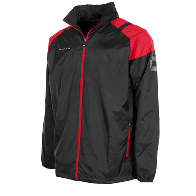 Stanno Centro All Weather Jacket - Black/Red