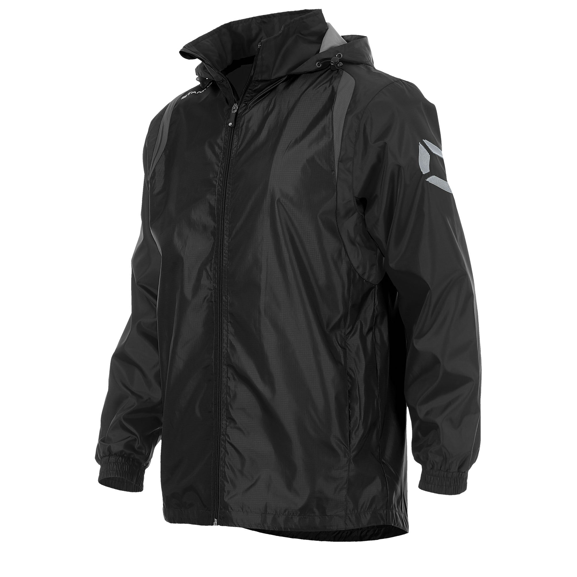 Stanno Centro Windbreaker - Black/Anthracite