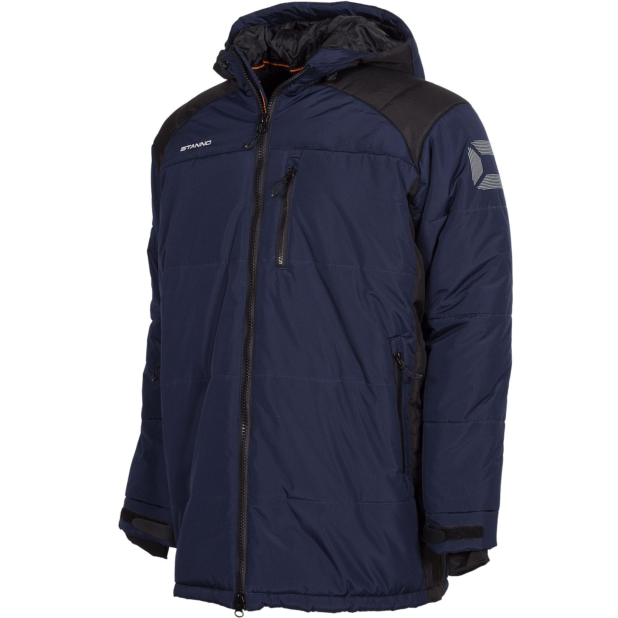 Stanno Centro Padded Coach Jacket - Navy/Black
