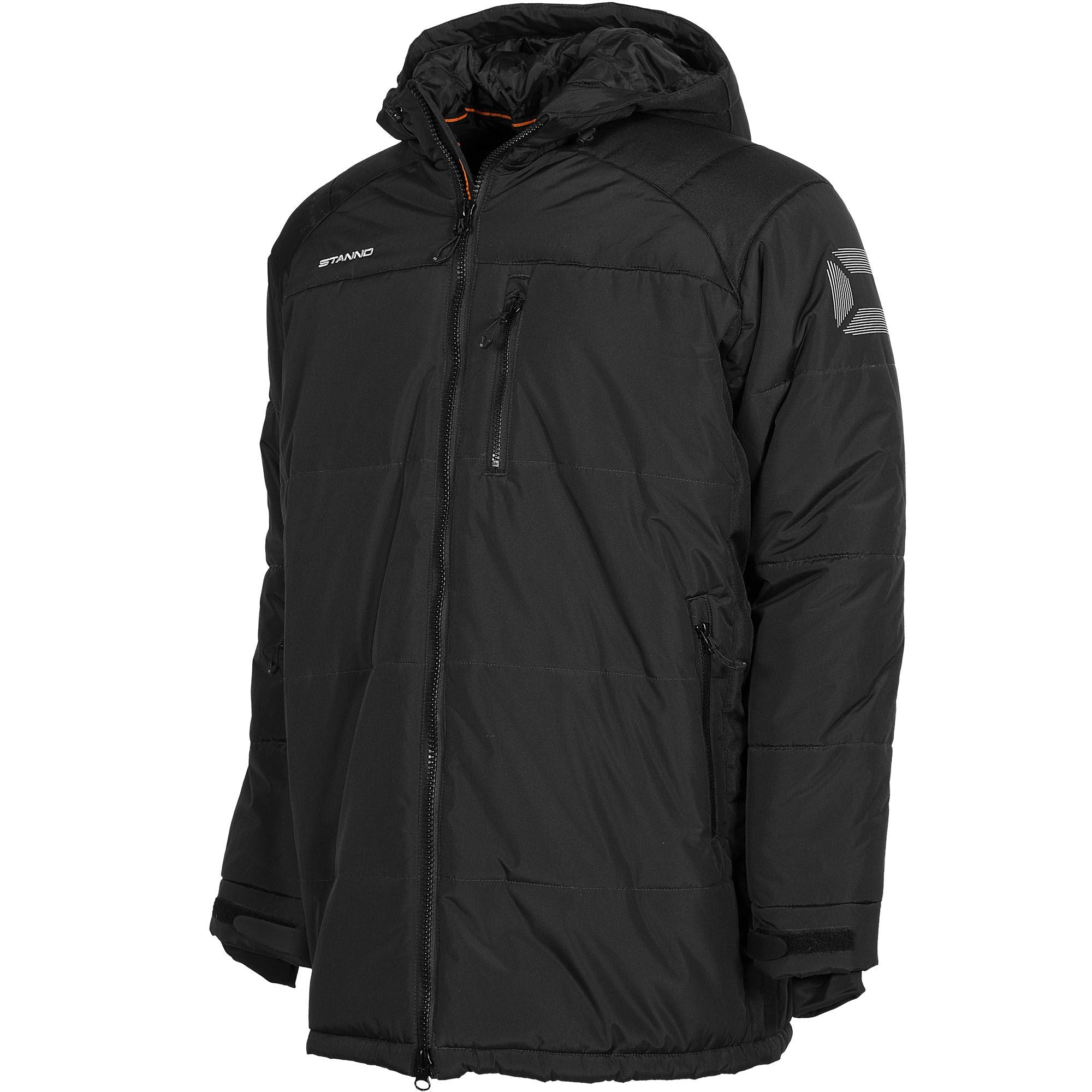 Stanno Centro Padded Coach Jacket - Black