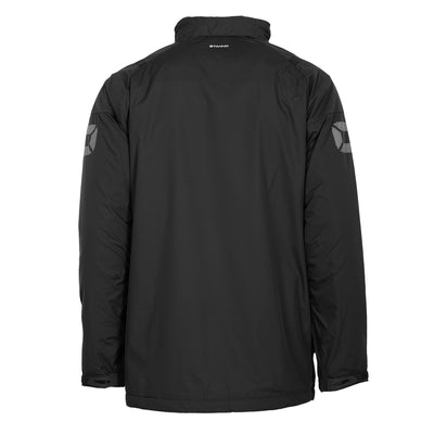 Rear of black Stanno Centro All season Jacket