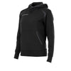 Stanno Centro Hooded Sweat Ladies - Black/Anthracite