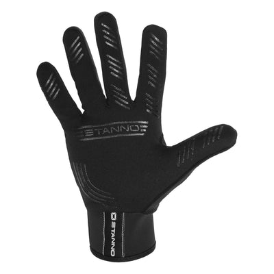 Stanno Player Glove in black with textured palm and fingers